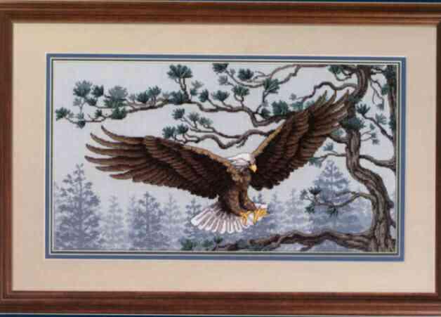 Galleryru / фото #2 - 35020 the promise-bald eagle / радуга и белоголовый орел - karpusha08