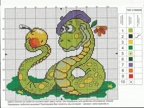 Змей художник